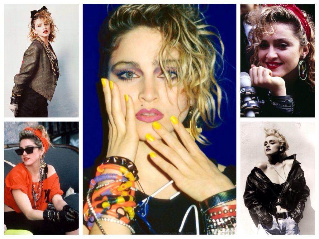 Стиль Мадонны в 80 -е