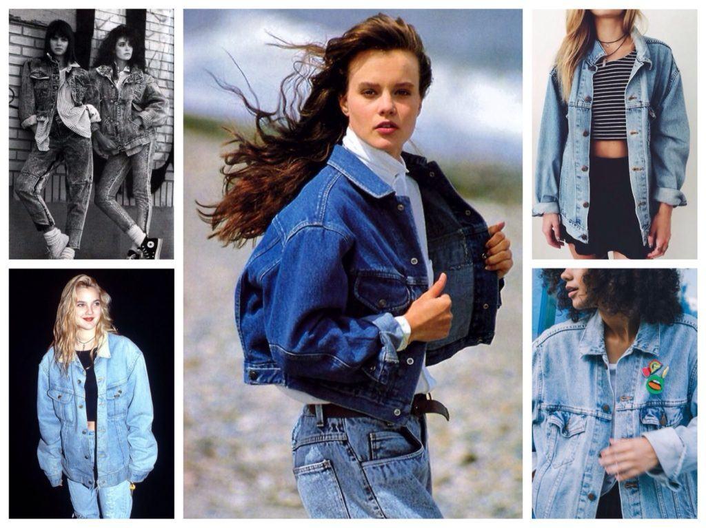 Модная джинсовая одежда