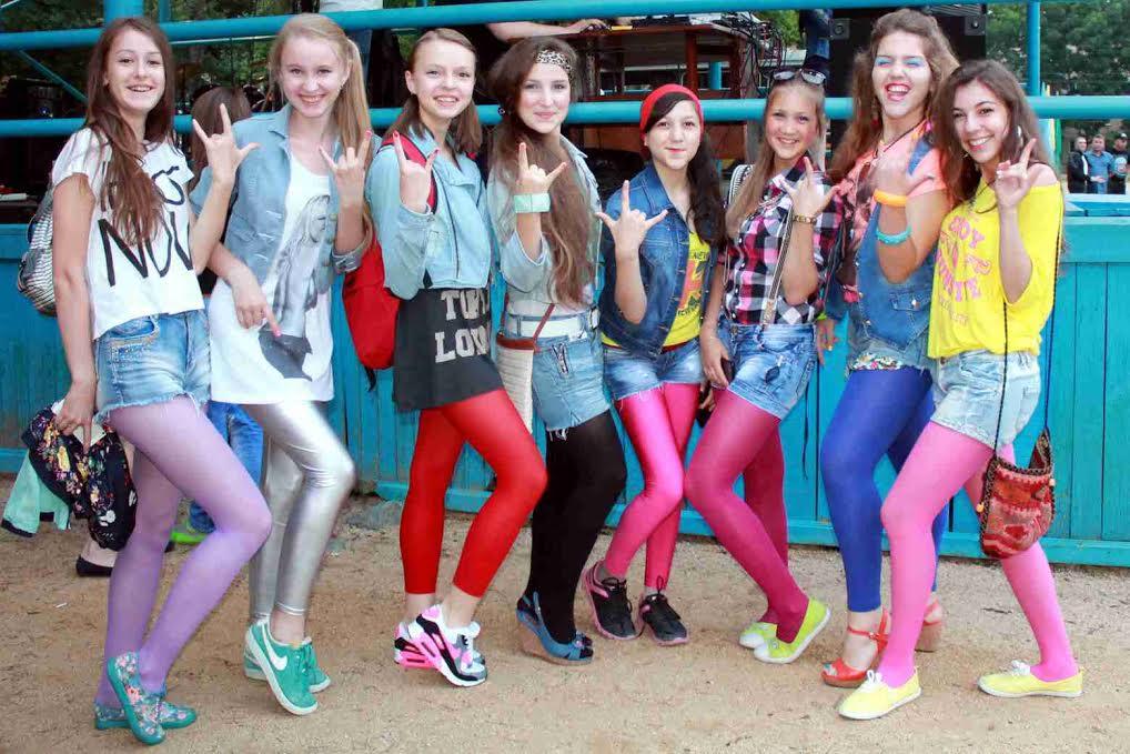 Стильные джинсы и лосины