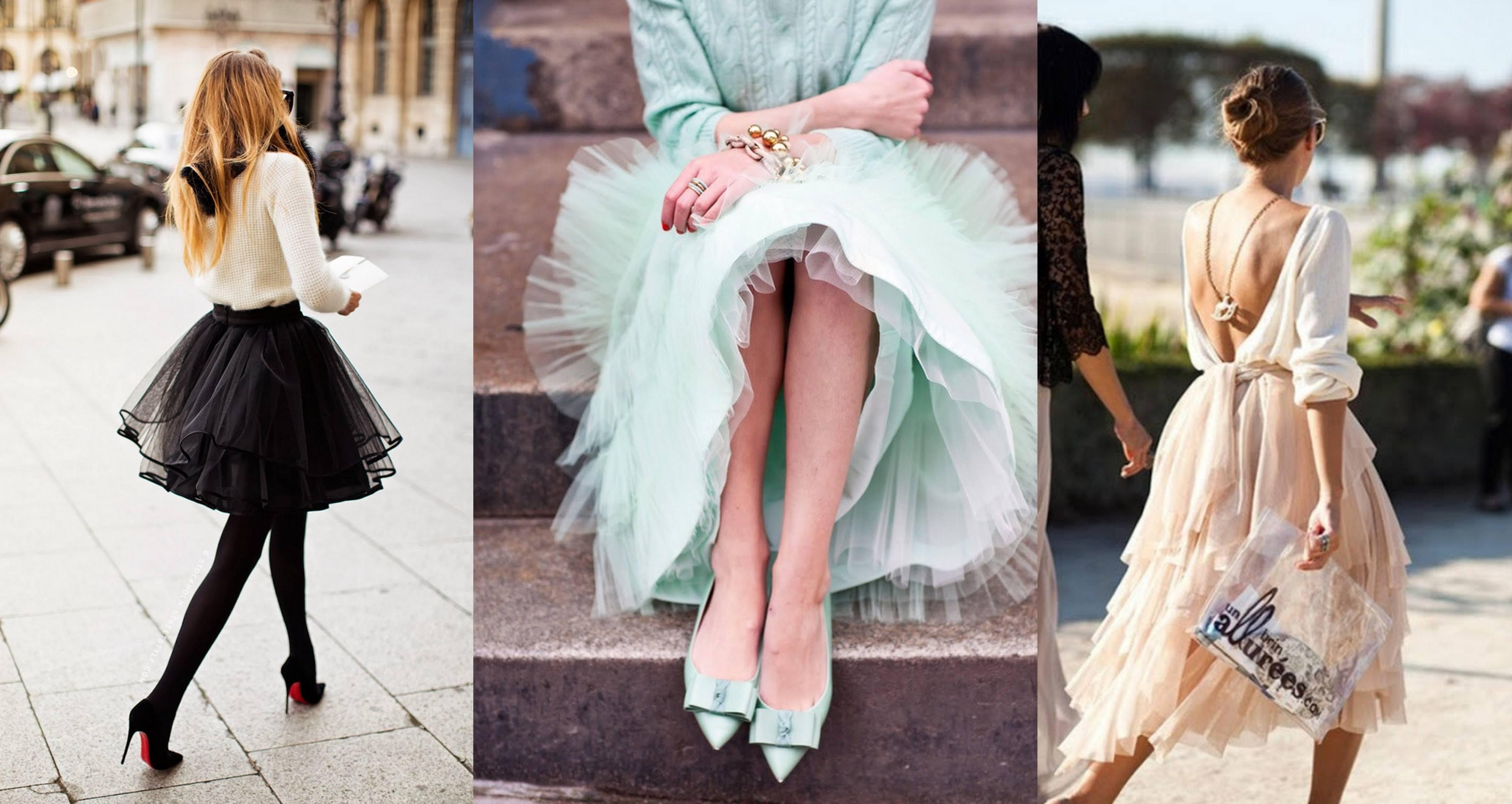Очень пышные юбки