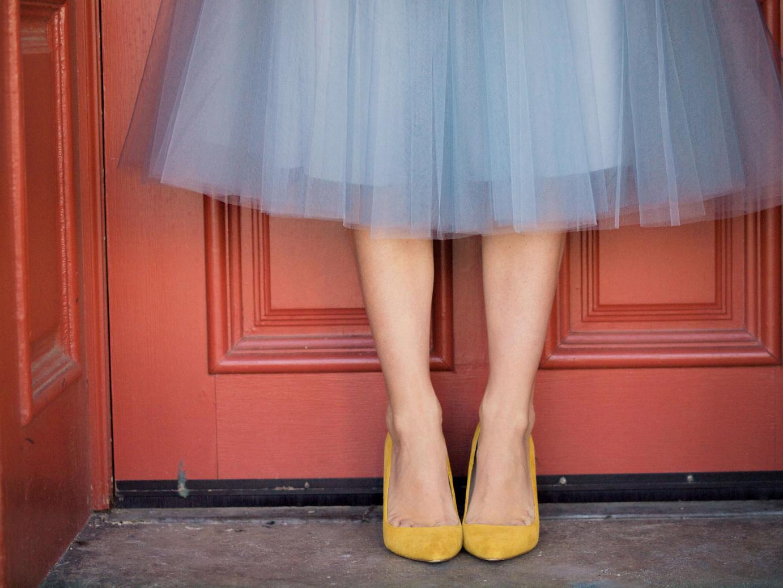 Обувь под юбку
