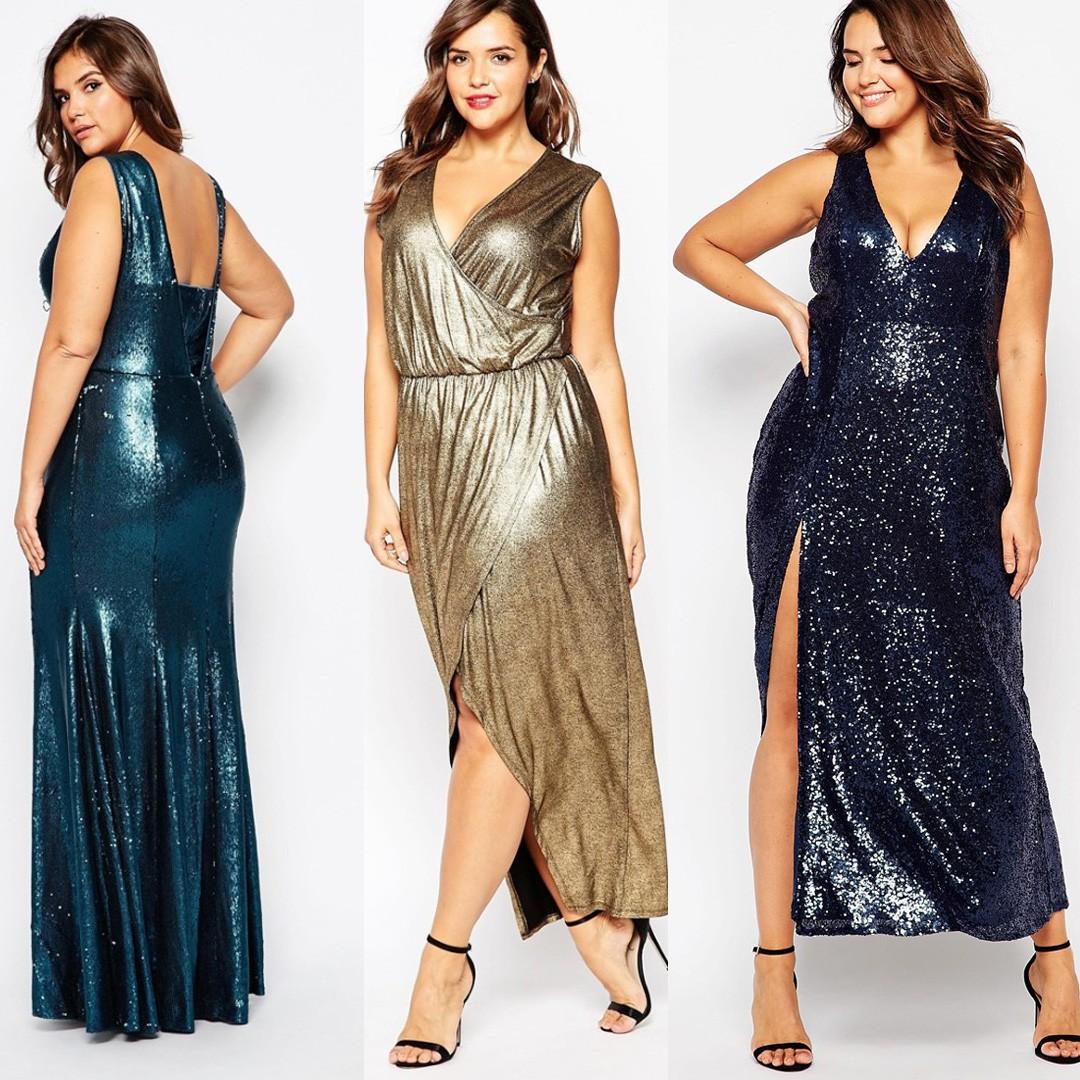 Платья с блестками