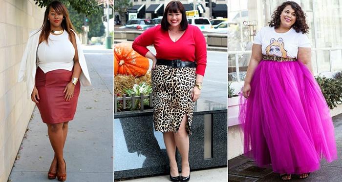 Яркие цвета юбки