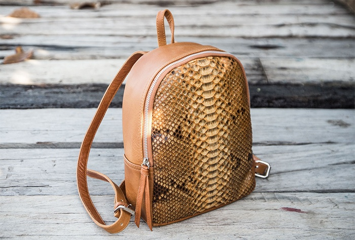 Рюкзак из питона