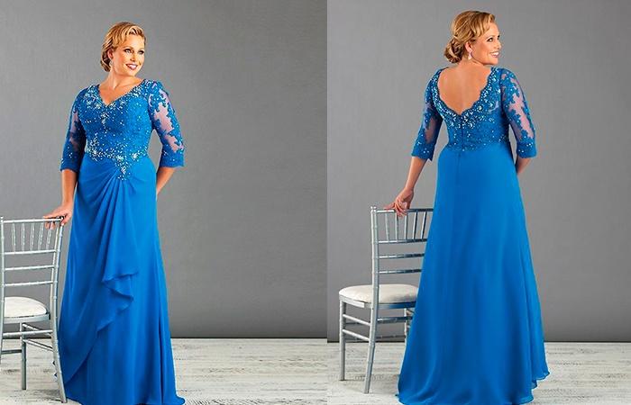 Красивое вечерние платье для мам