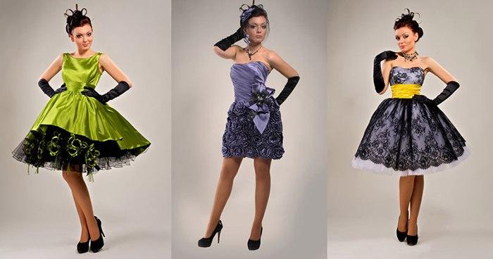 Вечерние платья в ретро стиле