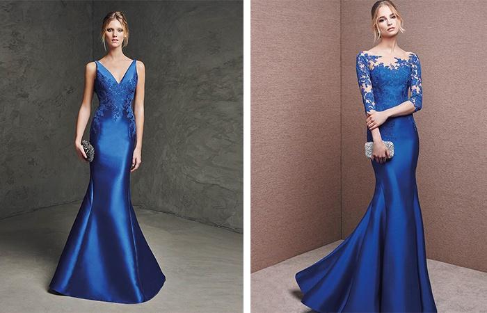 Вечерние платья на свадьбу из атласа