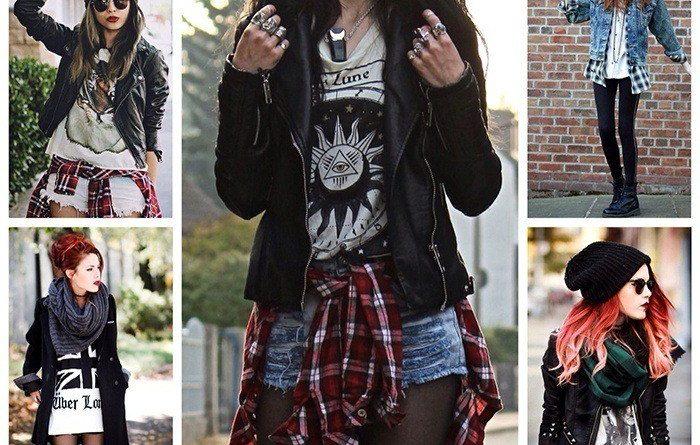 Гранжевый стиль в одежде — дерзкий и модный образ