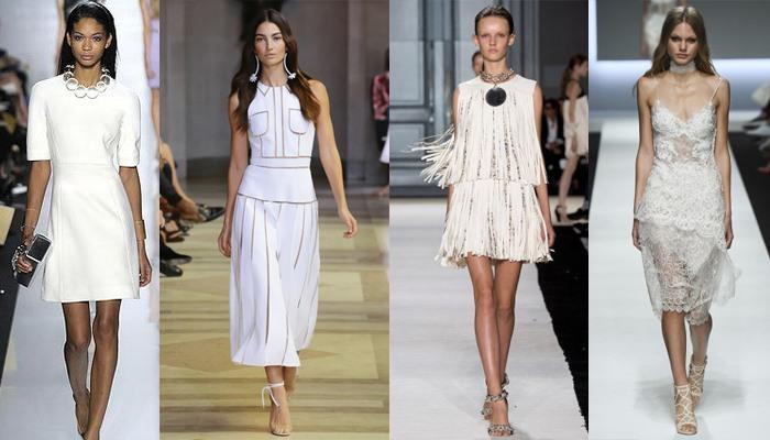 Модные белые вечерние платья — обворожительный образ