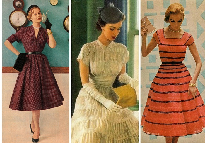 мода 60-х. фото