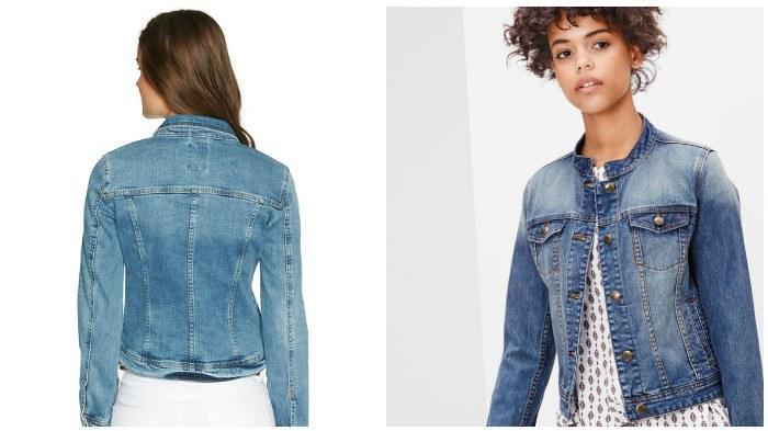 Приталенная джинсовая куртка для красивой фигуры