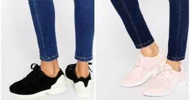 Кроссовки для бега на ногах