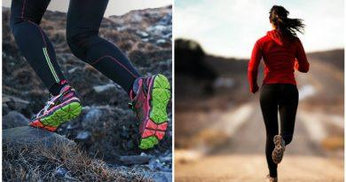 Бег в кроссовках по разному грунту