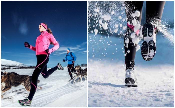 Беговые кроссовки для зимы