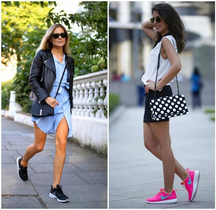 Прогулка по городу в кроссовках