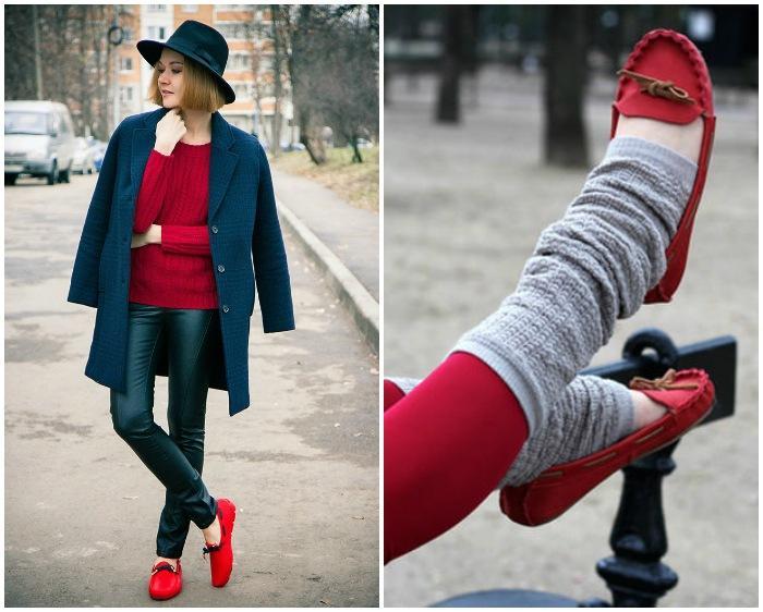 Выбор ношения мокасин с носками или на босую ногу