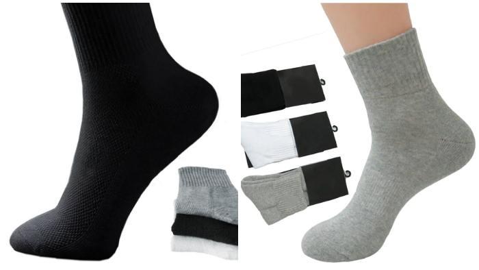 Спортивные носки для мокасин