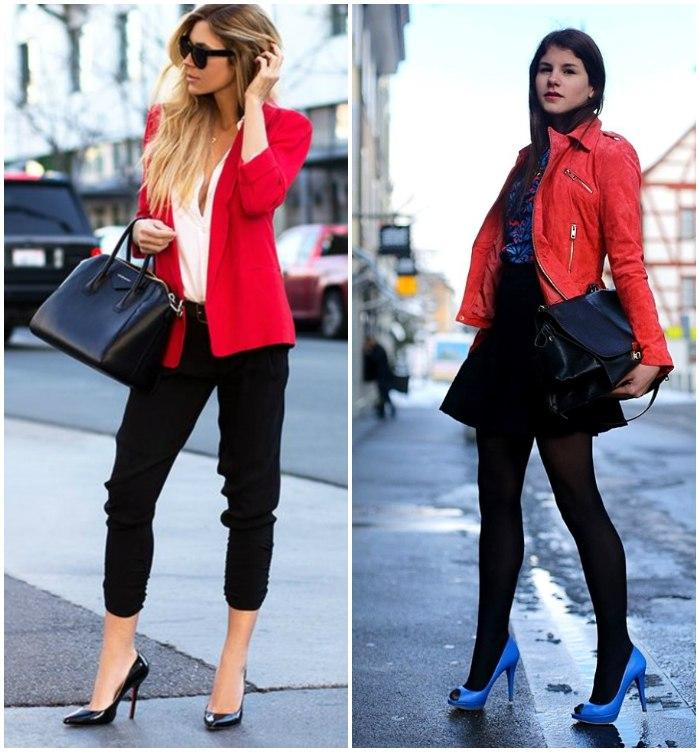 Городской стиль с туфлями