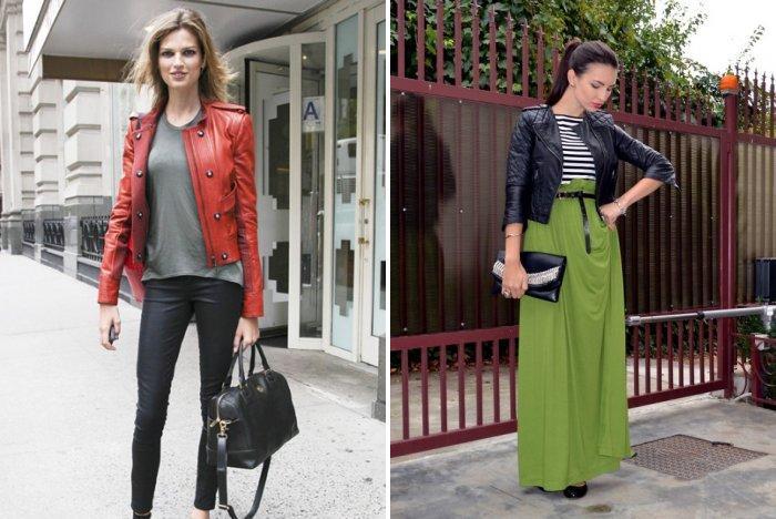 Кожаная куртка: стильно и практично