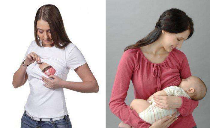 Практичная одежда для кормления