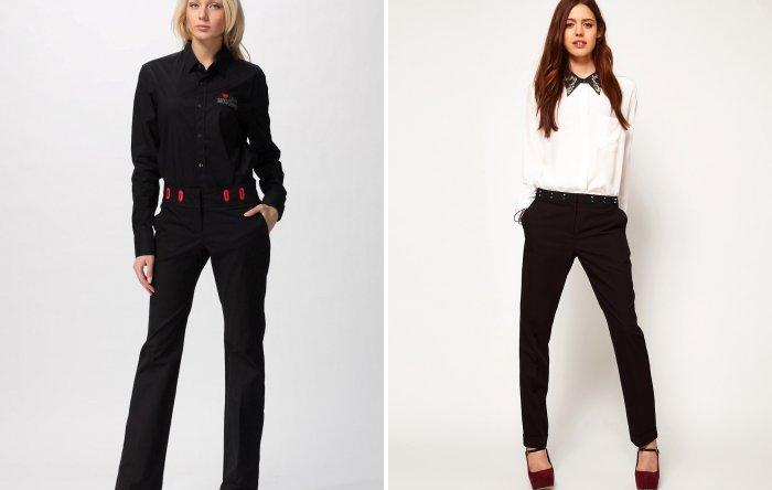 Строгий образ: классические брюки