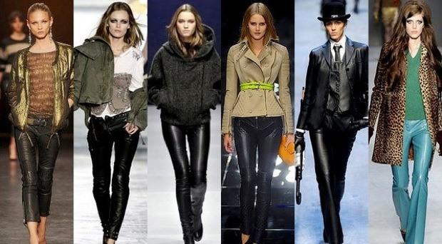 Кожаные брюки: мода и стиль