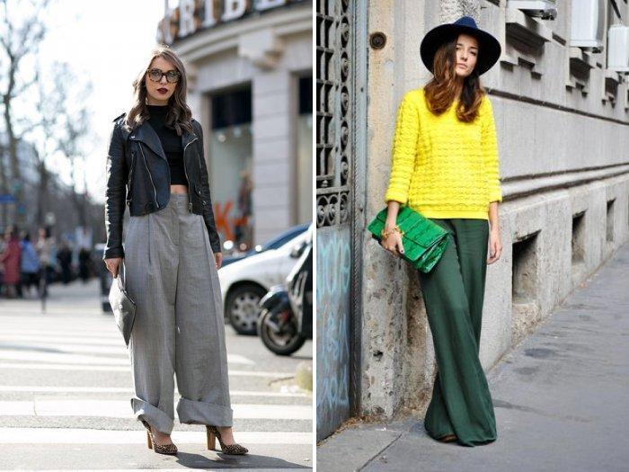 Широкие брюки для прогулки