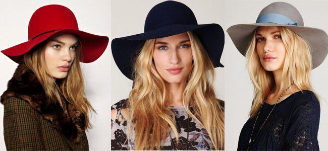 Фетровая шляпа в сочетании с кожаными леггинсами