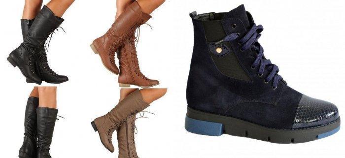 Ботинки на шнуровке для оранжевого пальто стиля кэжуал