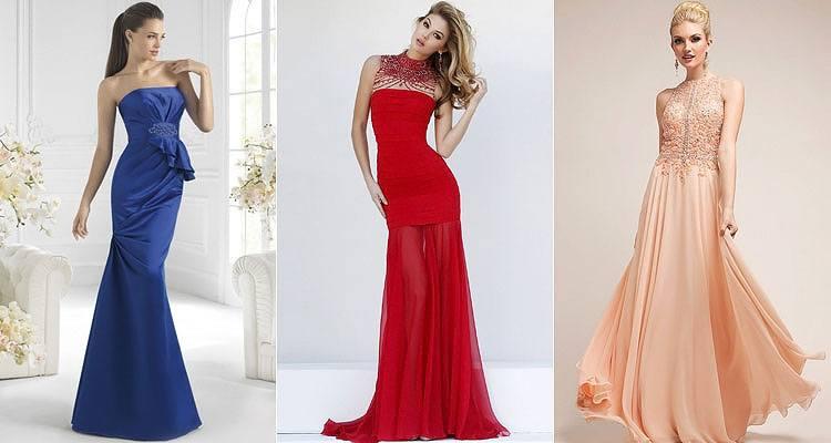 Приталенное длинное платье на свадьбу