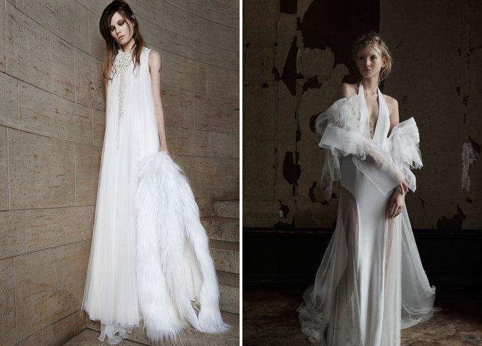 Свадебное платье из коллекции Веры Вонг