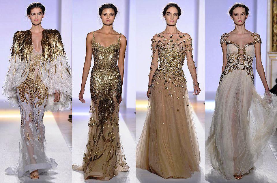 Платья с дизайнерских показов