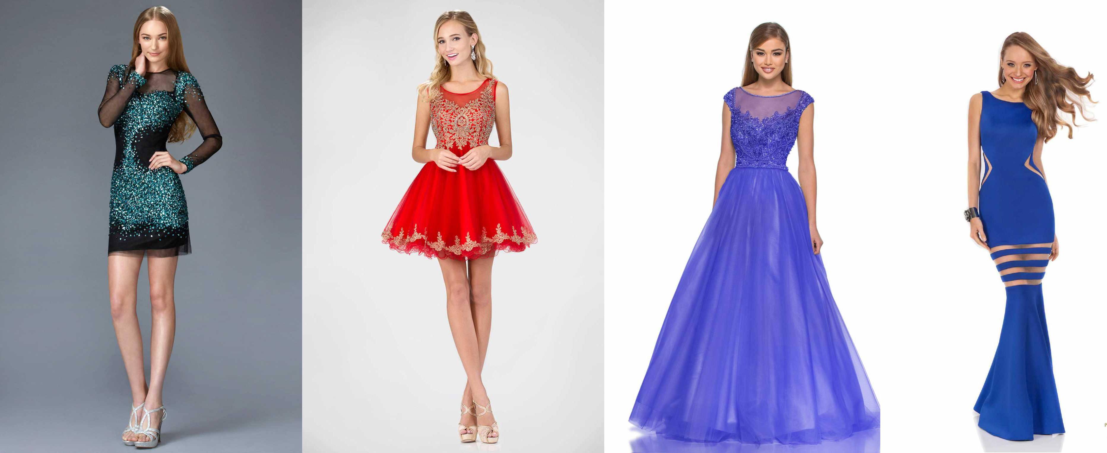 Платья для молодых девушек
