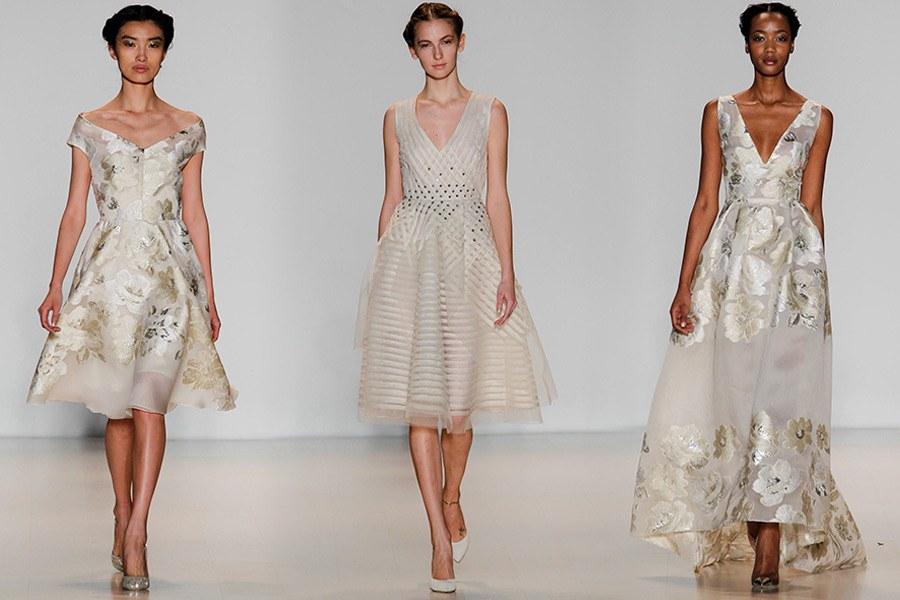Платье из дорогой ткани