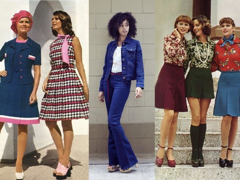 Платья и джинсы