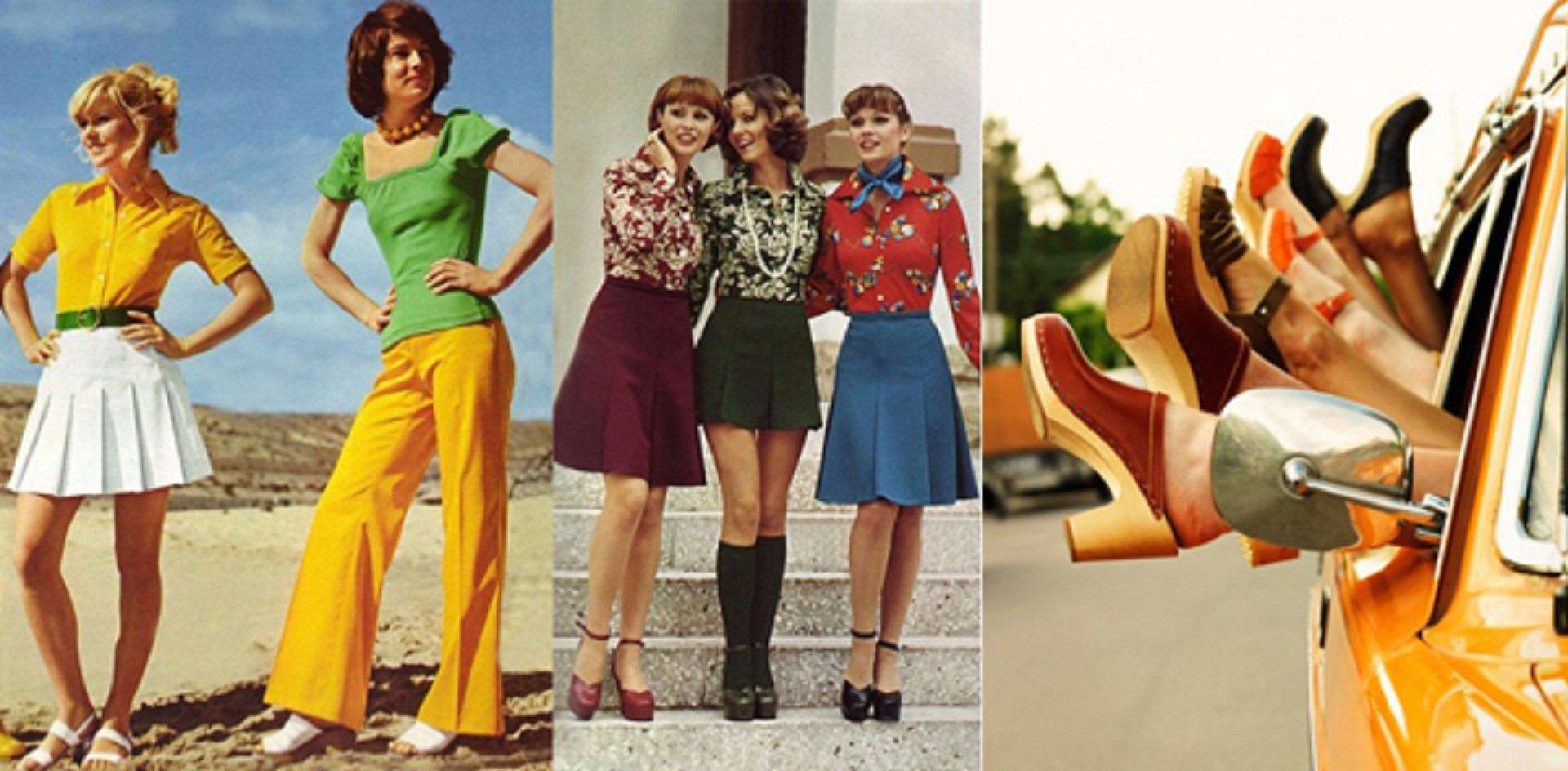Обувь в 70-е