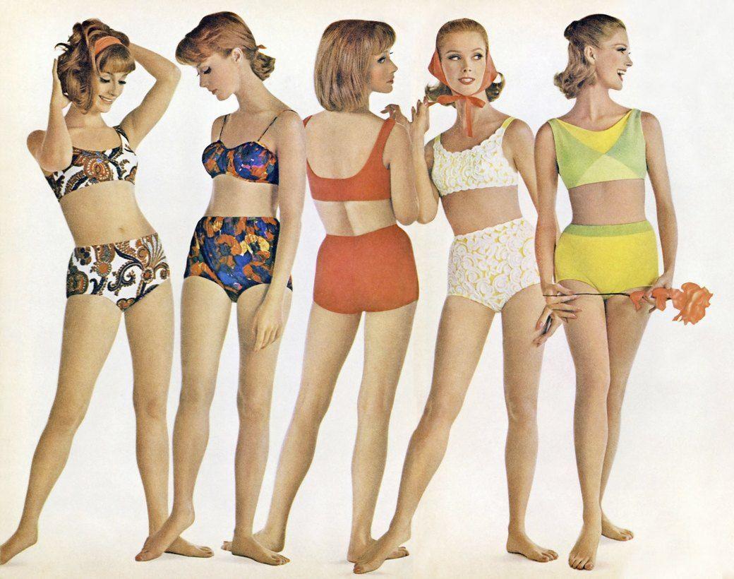 Какие купальники носили в 70-е