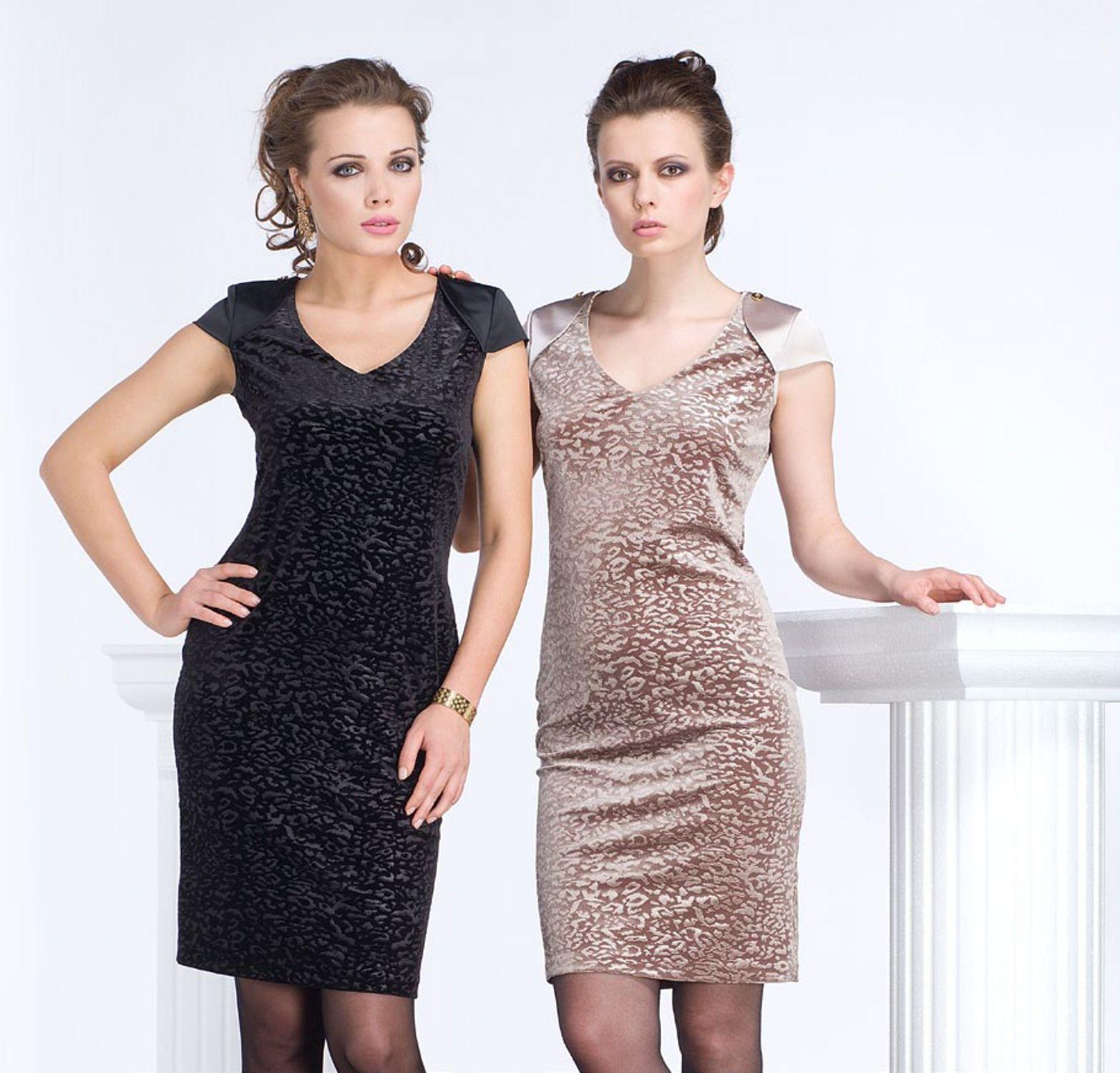 Платья в двух цветах