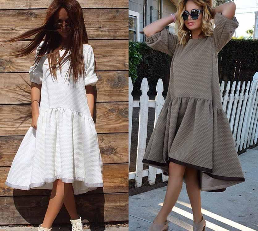 Разный цвет платьев