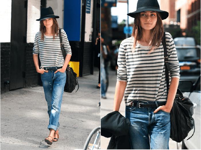 Стиль с джинсами