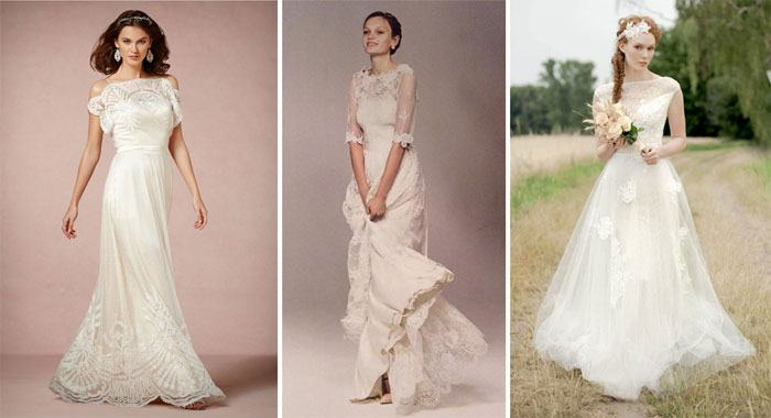 Свадебное платье по французке