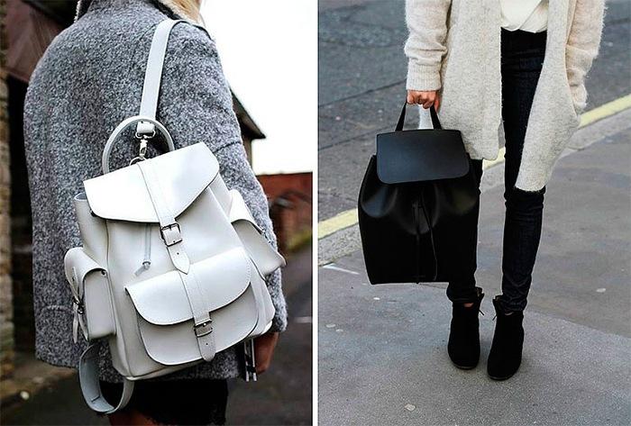 Рюкзаки из кожи