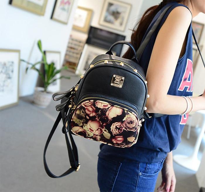 Маленький женский рюкзак