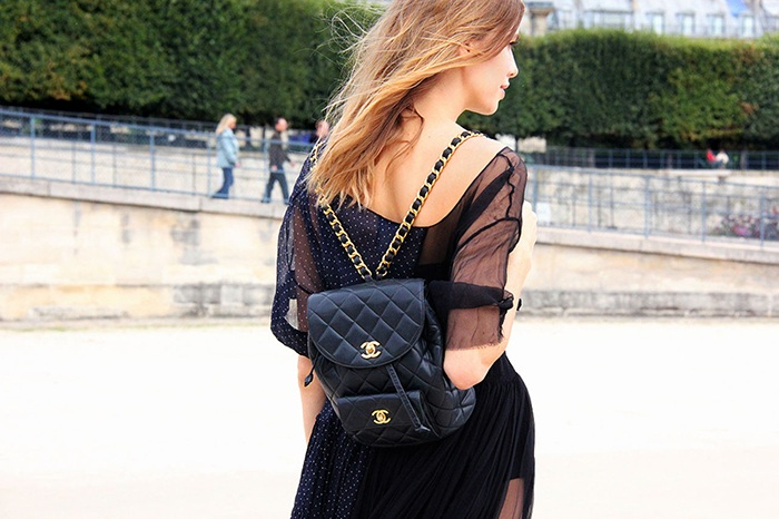 Образ с рюкзаком