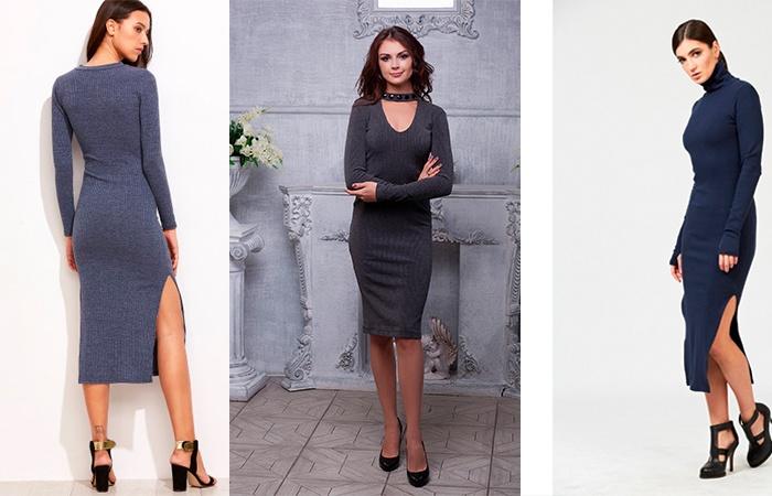 Различные образы с платьем-лапша