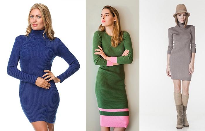 Платье-лапша разных цветов