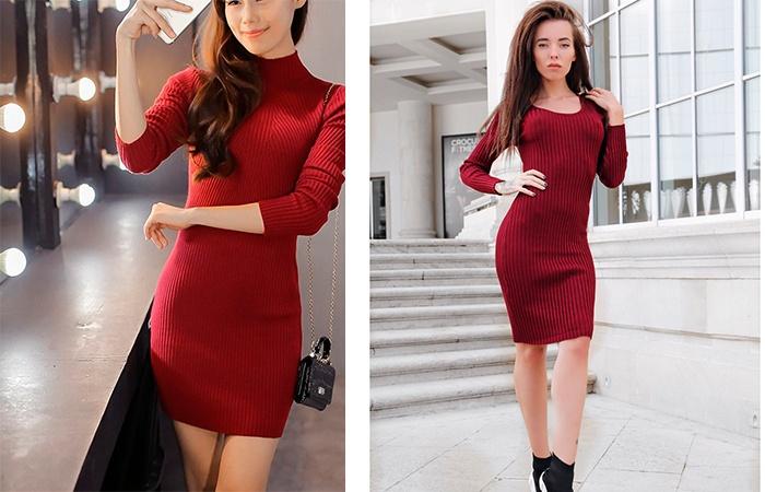 Образы с красными платьями