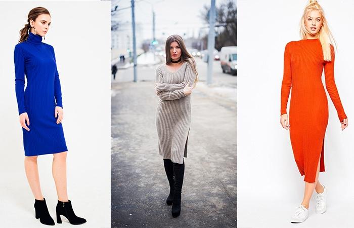 Различные цвета платья