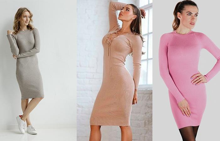 Разные варианты платья-лапша