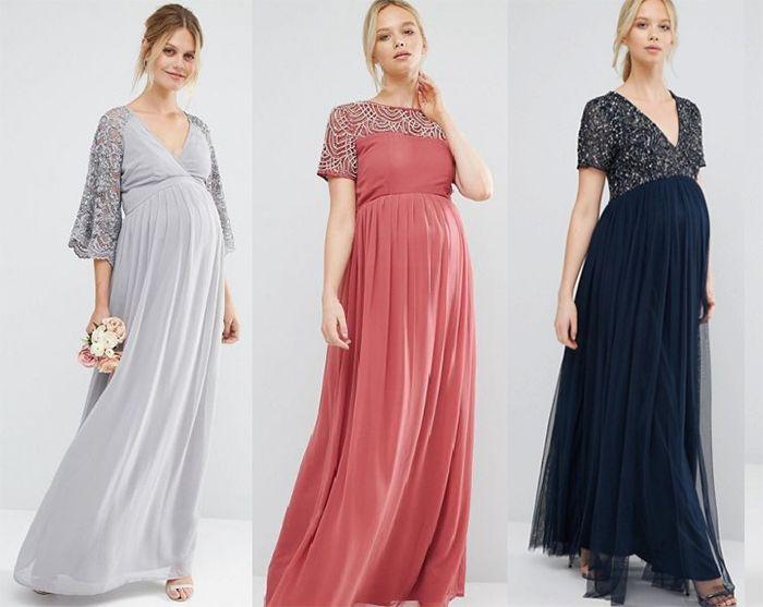 Вечерние платья для беременной
